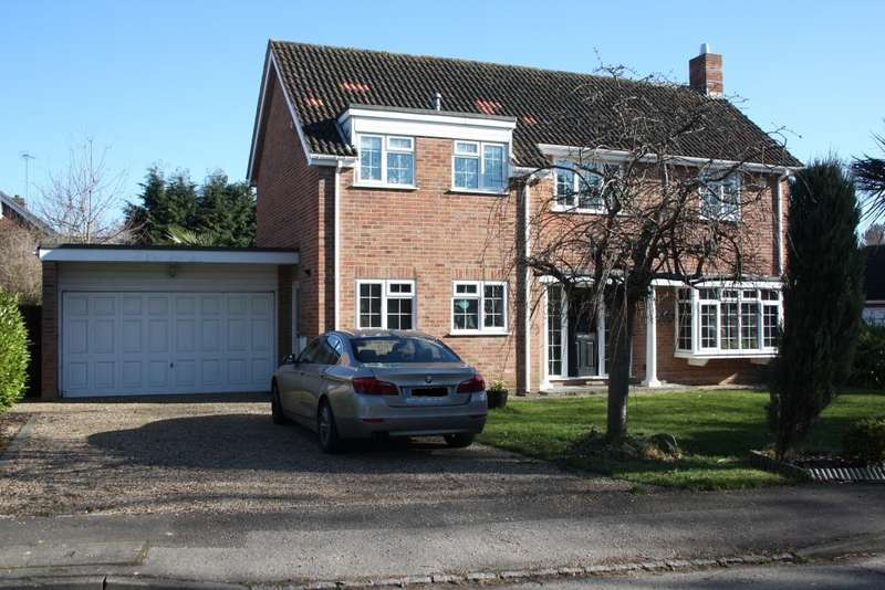 4 Bedrooms Detached House for sale in Denmark Avenue, Woodley, Reading, RG5