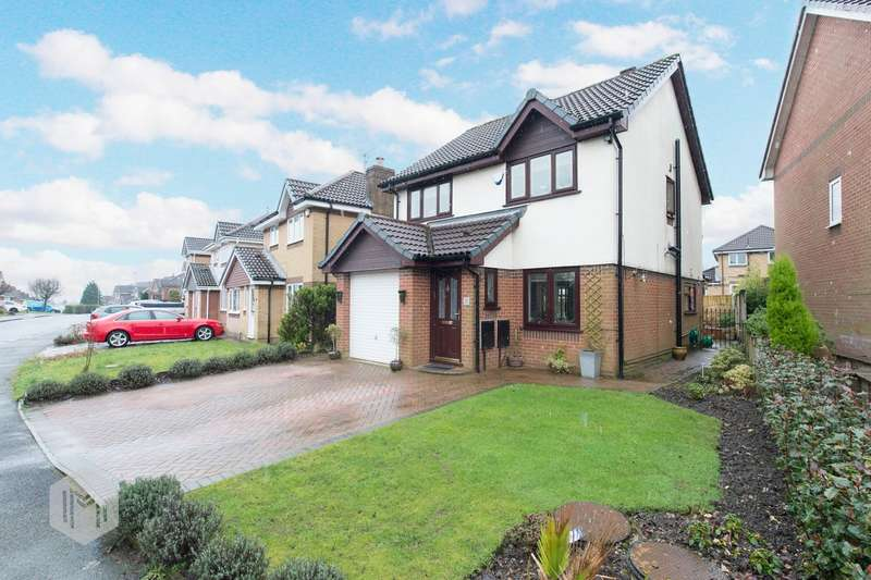 3 Bedrooms Detached House for sale in Wadebridge Drive, Bury, BL8