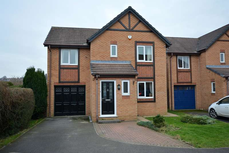 4 Bedrooms Detached House for sale in Linden Park Grove, Chesterfield, S40 1HY