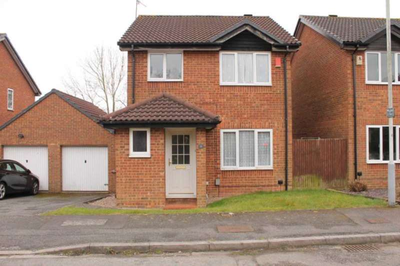 3 Bedrooms Detached House for rent in Robinswood, Luton