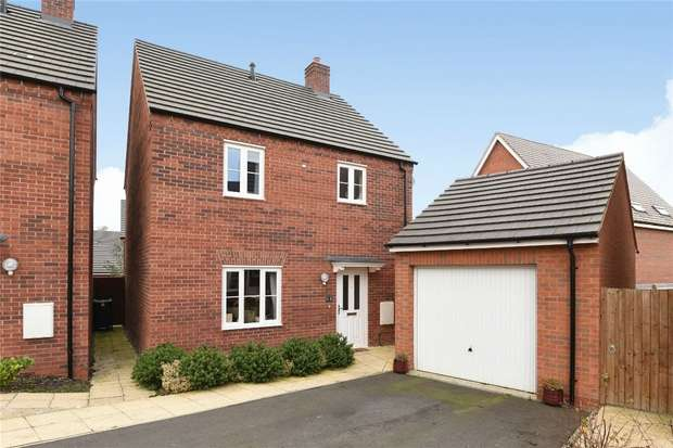 3 Bedrooms Detached House for sale in Flamville Road, Bedford