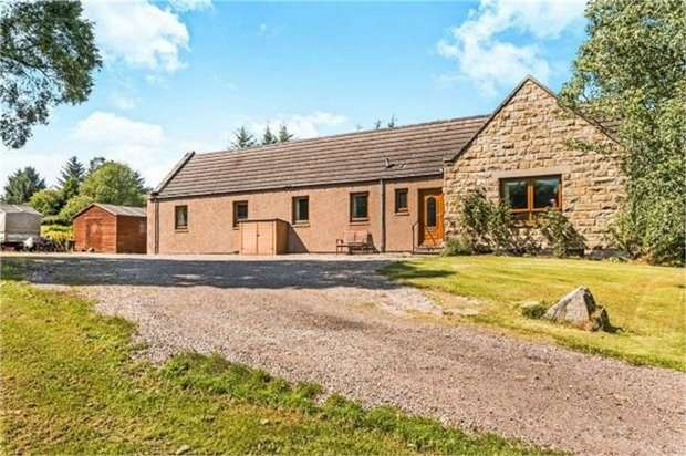4 Bedrooms Detached Bungalow for sale in Craigellachie, Craigellachie, Aberlour, Moray