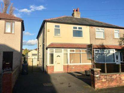 4 Bedrooms Semi Detached House for sale in Rossall Road, Lancaster, Lancashire, LA1