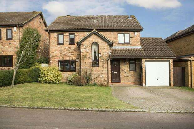 4 Bedrooms Detached House for sale in Sibley Park Road, Earley, Reading