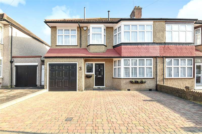 4 Bedrooms Semi Detached House for sale in Cranley Drive, Ruislip, Middlesex, HA4