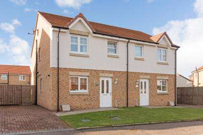 3 Bedrooms Semi Detached House for sale in Garganey, Alloa