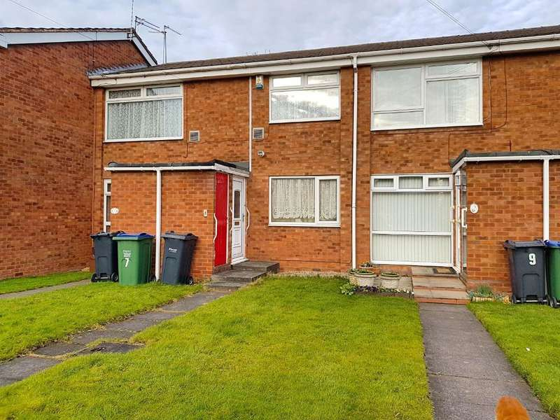 2 Bedrooms Maisonette Flat for sale in OVERTON PLACE, WEST BROMWICH, WEST MIDLANDS, B71 1RL