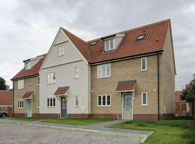 3 Bedrooms End Of Terrace House for sale in School View, Caston, Attleborough
