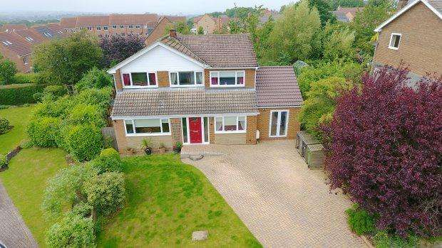 5 Bedrooms Detached House for sale in REDWORTH GROVE, BISHOP AUCKLAND, BISHOP AUCKLAND