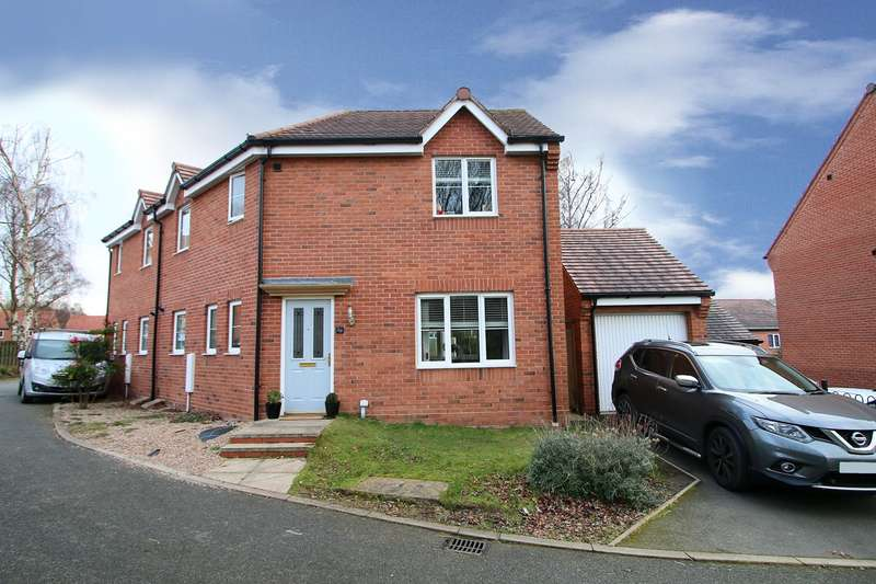3 Bedrooms Semi Detached House for sale in Guardians Walk, Wordsley, Stourbridge, DY8