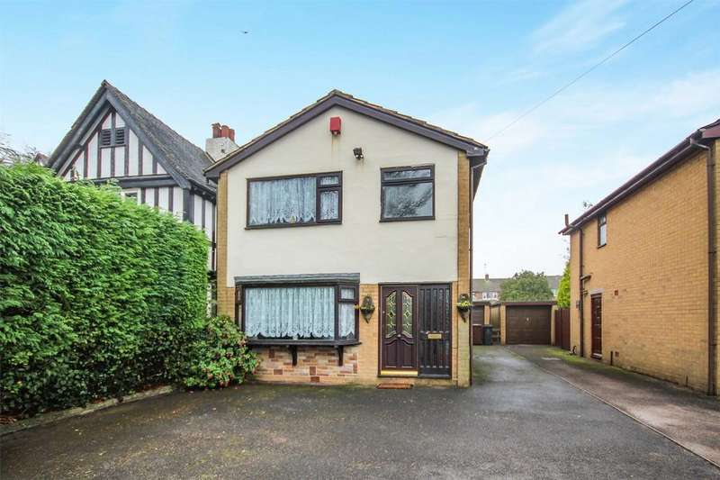 3 Bedrooms Detached House for sale in Cheadle Road, Blythe Bridge, Staffordshire