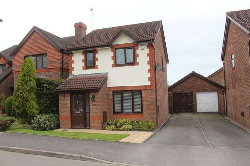 3 Bedrooms Detached House for sale in Hertford Way, Knowle