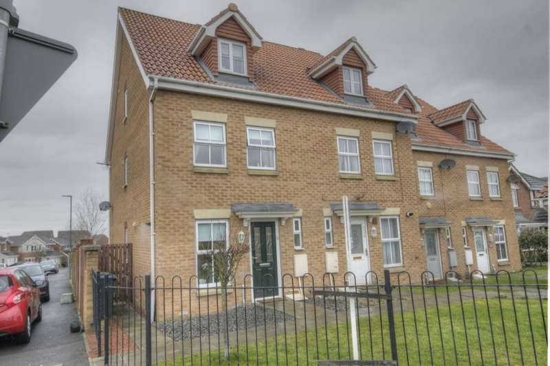 3 Bedrooms Semi Detached House for sale in Fenwick Way, Consett, DH8