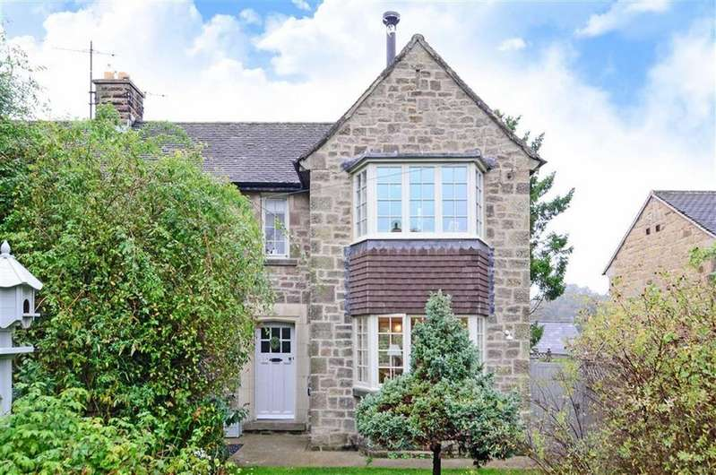 3 Bedrooms Semi Detached House for sale in Wye Garth, Ashford Road, Bakewell, Derbyshire, DE45