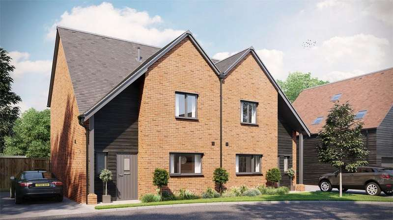 3 Bedrooms Semi Detached House for sale in Sutton Scotney, Winchester, Hampshire