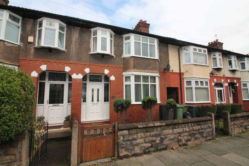 3 Bedrooms Terraced House for sale in Hinderton Road, Birkenhead