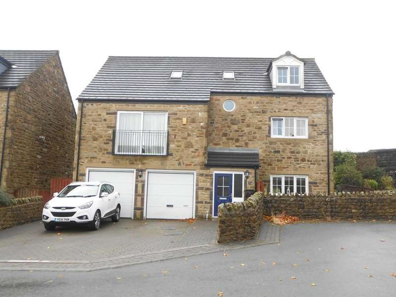 4 Bedrooms Detached House for sale in Lees Moor Meadows, Cullingworth, BD13 5GY