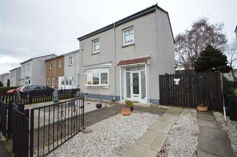 3 Bedrooms End Of Terrace House for sale in Vickers Street, Motherwell