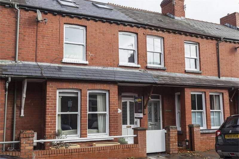 3 Bedrooms Terraced House for sale in Fairleigh Road, Pontcanna, Cardiff
