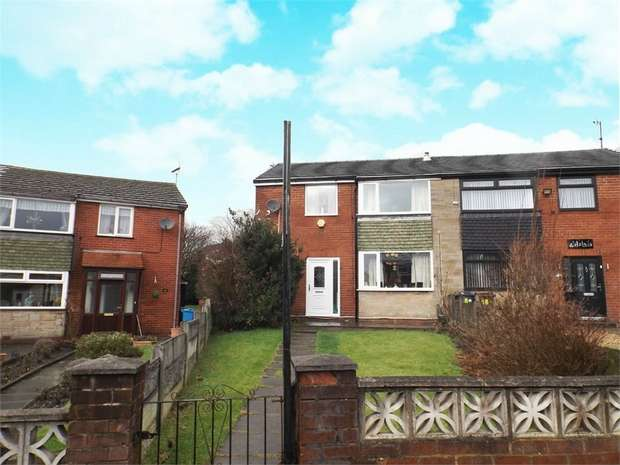 3 Bedrooms Semi Detached House for sale in Mulmount Close, Oldham, Lancashire