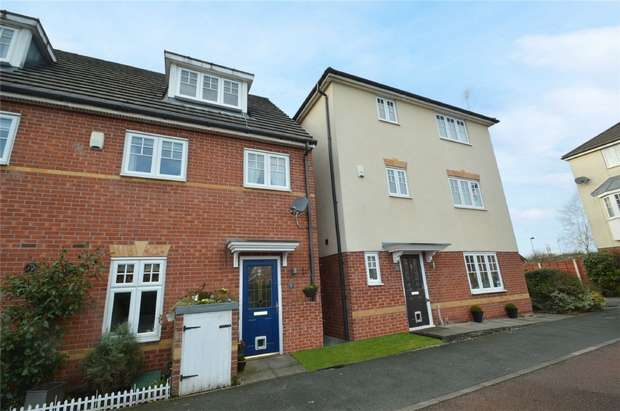 4 Bedrooms Terraced House for sale in Abbeyfield Close, Cale Green, Stockport, Cheshire