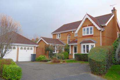 4 Bedrooms Detached House for sale in Trinity Road, Abbeymead, Gloucester