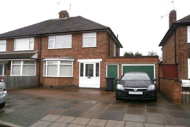 3 Bedrooms Semi Detached House for sale in Tamar Road, Rushey Mead, Leicester, LE4