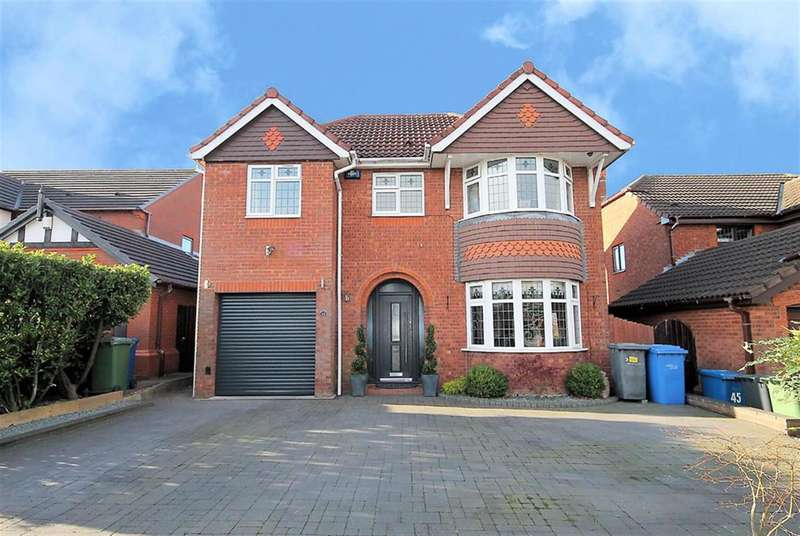 4 Bedrooms Detached House for sale in Marsett, Tamworth, B77 4QU