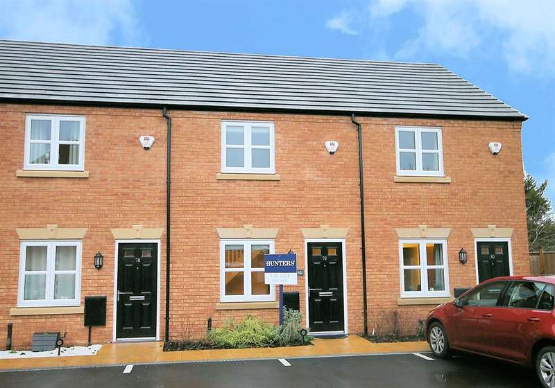 2 Bedrooms Town House for sale in Croft Close, Two Gates, Tamworth, B77 1BF