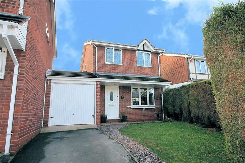 3 Bedrooms Link Detached House for sale in Cheviot, Wilnecote, Tamworth, B77 4JR