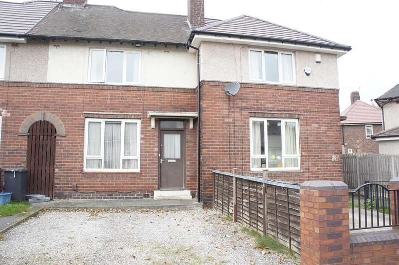 2 Bedrooms Terraced House for sale in Cookson Road, Southey Green, Sheffield, S5 8LS