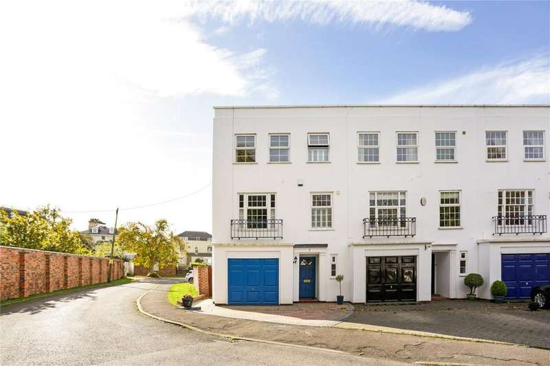 4 Bedrooms End Of Terrace House for sale in Skillicorne Mews, Queens Road, Cheltenham, Gloucestershire, GL50