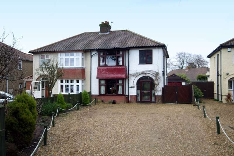 3 Bedrooms Semi Detached House for sale in Plumstead Road East, Thorpe St Andrew, Norwich, NR7