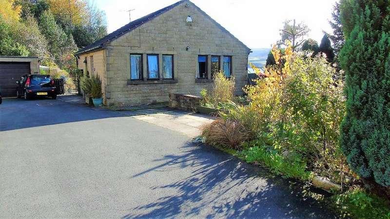 2 Bedrooms Detached Bungalow for sale in Stile Moor Rise, Todmorden, OL14