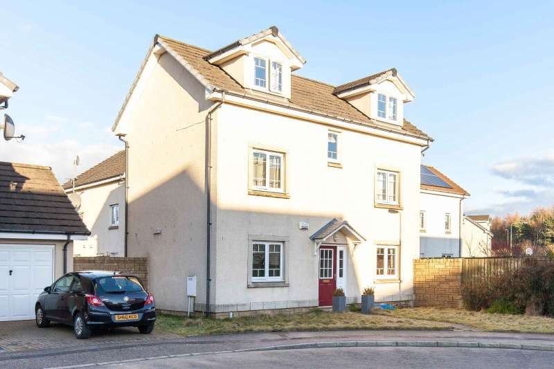 4 Bedrooms Detached House for sale in Owen Stone Street, Bathgate, West Lothian, EH48 2SR