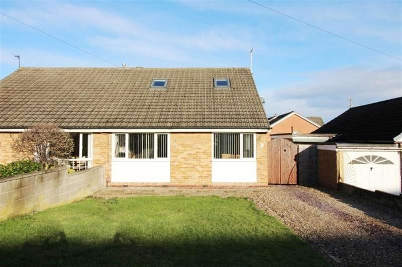 4 Bedrooms Semi Detached Bungalow for sale in Priestley Drive, Pudsey, Pudsey, LS28 9NQ