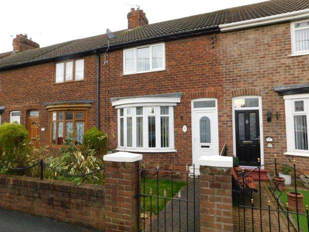 2 Bedrooms Terraced House for sale in OXFORD TERRACE, BOWBURN, DURHAM CITY : VILLAGES EAST OF