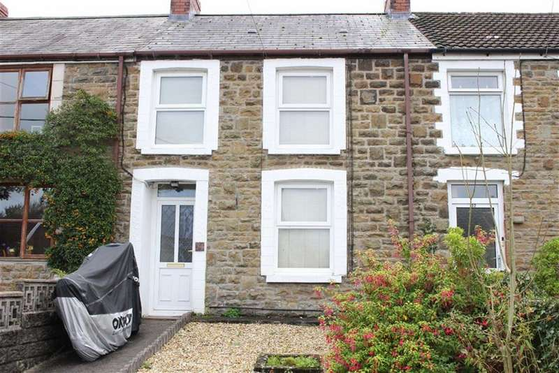 2 Bedrooms Terraced House for sale in Station Road, Llanmorlais