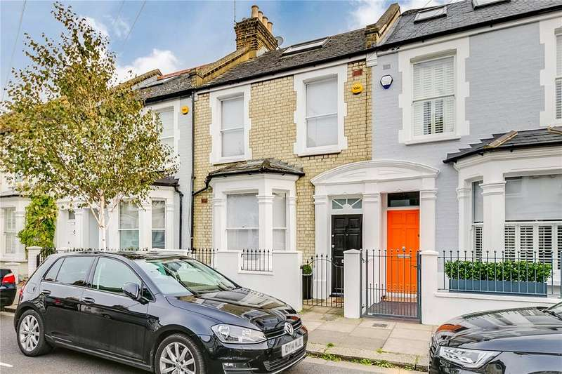 4 Bedrooms Terraced House for sale in Burnthwaite Road, Fulham, London