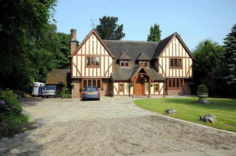 4 Bedrooms Detached House for sale in Moor Hall Drive, Four Oaks, Sutton Coldfield