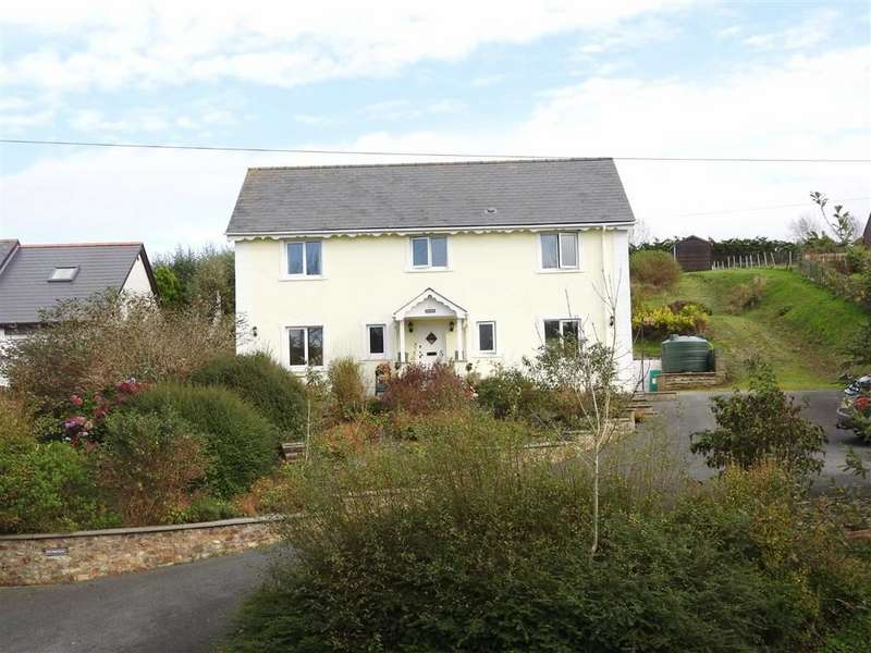 5 Bedrooms Detached House for sale in Ferwig, Cardigan