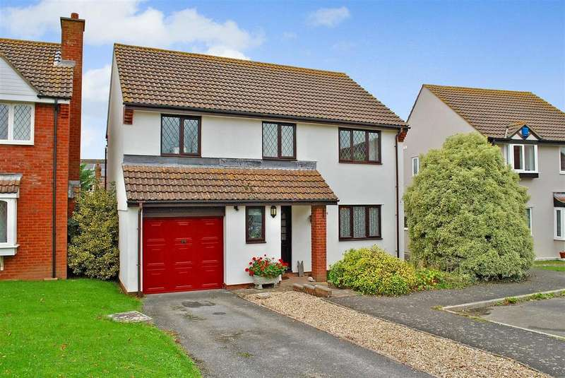 4 Bedrooms Detached House for sale in Portmans, North Curry, Taunton