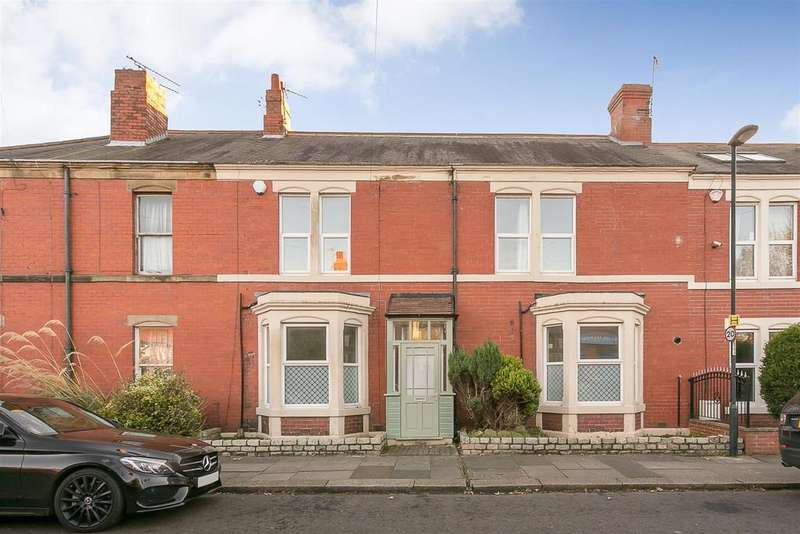 3 Bedrooms Terraced House for sale in Lodore Road, High West Jesmond, Newcastle upon Tyne