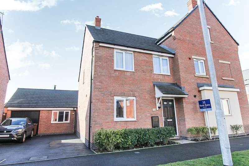 3 Bedrooms Semi Detached House for sale in Priory Avenue, Hawksyard, Rugeley, WS15