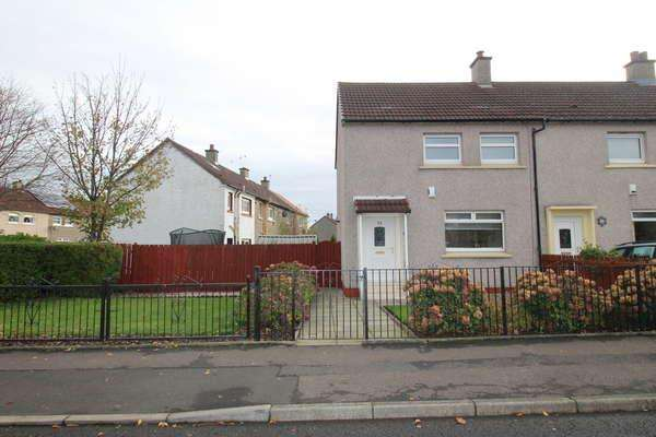 2 Bedrooms End Of Terrace House for sale in 24 Northway, Blantyre, Glasgow, G72 9HT
