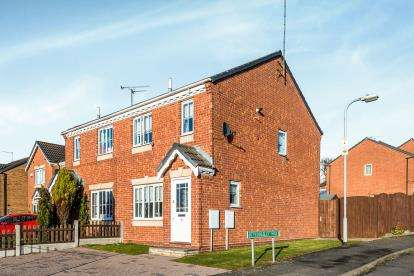 3 Bedrooms Semi Detached House for sale in Teddesley Way, Huntington, Cannock, Staffordshire