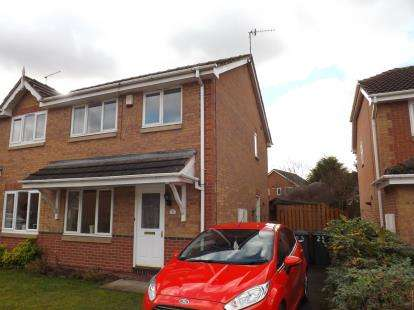 3 Bedrooms Semi Detached House for sale in Syon Park Close, West Bridgford, Nottingham, Nottinghamshire