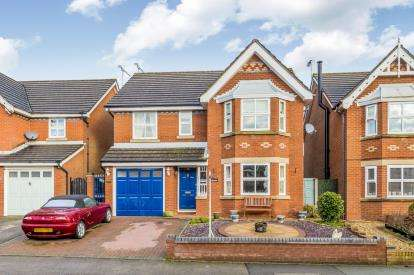 4 Bedrooms Detached House for sale in Church Way, Wybunbury, Nantwich, Cheshire