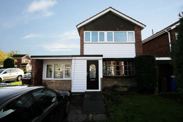 4 Bedrooms Link Detached House for sale in Deerleap Way, Rugeley, Staffordshire, WS15 2SL
