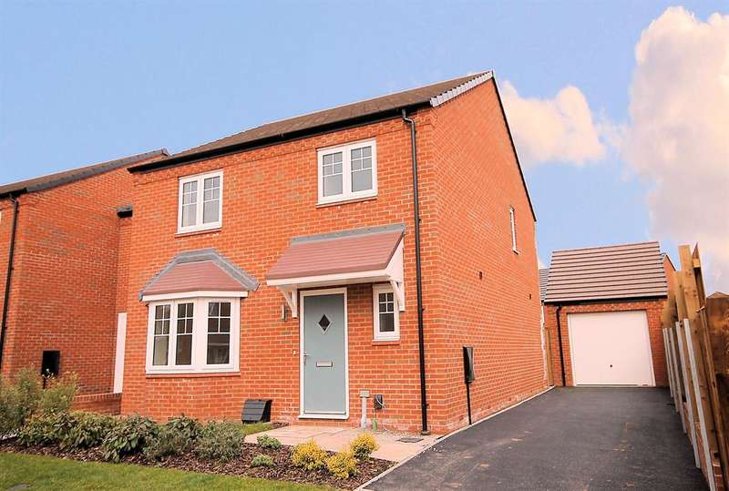 3 Bedrooms Detached House for sale in Bellway House, Relay Point, Relay Drive, Tamworth, B77 5PA